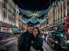 Festive Fun With The One (Smile on Saturday - One Hundred Smiles) (CJD imagery) Tags: portraiture portrait canonefs18135mmf3556isstm canoneos80d girl boy woman man girlfriend boyfriend people nightphotography streetphotography city christmaslights festive onehundredsmiles smileonsaturday london regentstreet england gb greatbritain uk unitedkingdom