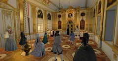 Great Vespers (Sofia ~Chateau D'Esprit~) Tags: stpetersburginsl saint petersburg sl rp secondlife roleplay russia russian empire great vespers lent fasting western