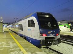 Stadler Flirt, ED160-007, PKP IC (transport131) Tags: pociąg train stadler flirt ed160 007 pkp ic