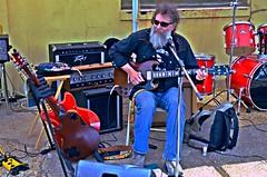Bill Abel -- Juke Joint Festival, Clarksdale (forestforthetress) Tags: billabel blues bluesmusic clarksdale jukejointfestival man singer song guitar bluesman outdoor color street music musician omot nikon