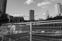 - (Hideki-I) Tags: park building architechture nikon d850 2470 kobe japan bw blackandwhite 白黒 黑白