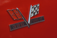Chevelle SS 396 crossed flags badge (Light Orchard) Tags: car auto automobile voiture chevrolet chevy chevelle ss supersport muscle 396 ©2019lightorchard bruceschneider caffeineoctane american