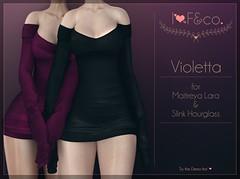 Violetta (Ainadara Resident) Tags: i3f i3fco maitreya fashion original mesh event exclusive slink hourglass seasonstorie dress longsleeve longarm shoulderfree wool