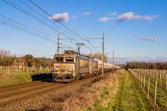 03 février 2019  BB 7369-7347  Train 489870 Miramas -> Bordeaux-Hourcade  Saint-Martin-de-Sescas (33) (Anthony Q) Tags: 03 février 2019 bb 73697347 train 489870 miramas bordeauxhourcade saintmartindesescas 33 ferroviaire fret sncf bb7200 bb7369 gironde aquitaine