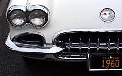 1960 Corvette front detail (Light Orchard) Tags: car auto automobile sports antique classic vintage old restored chevrolet chevy corvette vette 1960 american ©2019lightorchard bruceschneider