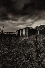 Legacy (dunksyk) Tags: legacy shed dark moody darkstories whalley lancashire viaduct victorian rurex bnw blackandwhite monochrome