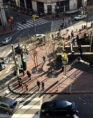 After days of rain and clouds, it was great seeing shadows again (JoeGarity) Tags: city financialdistrict downtown urban shadows marketstreet sanfrancisco