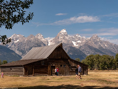 Mormon Row (Ramona H) Tags: grandtetonnationalpark mormonrow tetons thebarns wy wyoming nationalpark