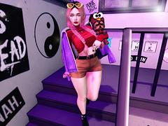 ♥♥♥ (ღ ღ[[J E SSIE ]] ღ ღ) Tags: amitomo sl doux maitreya catwa girl pose post secondlife cute blackbantam