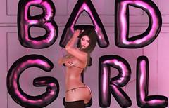 Bad Girl Bad Girl (Ashley Densu) Tags: bad badgirl sl photography photo 3dphotography 3d 3dart 3dartwork rawphotography raw secondlife catwa maitreya bento lara sexy