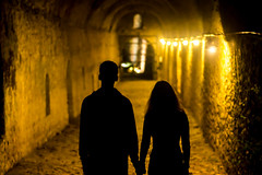 Fearless together (nzamp) Tags: love hands holding night black nikon d3100 couple top20greece nikond3100 nikondslr art shadows people monochrome artistic