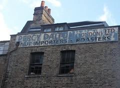 Percy Dalton  Nut Roasters Ghost Sign Crispin street London E1. 11/11/18. (Ledlon89) Tags: ghostsigns ghostsign adverts oldadverts paintedadverts oldsigns signs london oldlondon shoreditch