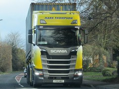 Mark Thompson, Scania S500. 18 Plate (Gary Chatterton 5 million Views) Tags: markthompson transport nextgenerationscania scania scanias500 scaniatrucks shippingcontainer hgv heavygoodsvehicle truck trucking wagon lorry vehicle flickrtrucks flickr exploreinterestingness canonpowershot photography