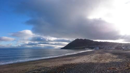 Bray beach and Bray Head ©  alexyv