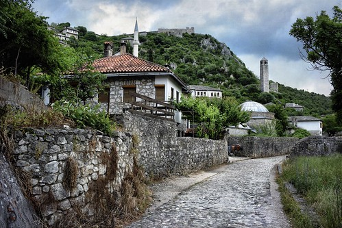 Entering the Old Town