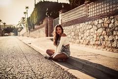 B e a (Nacho Borrella) Tags: portrait retrato canon canon5dmarkii 5dmarkii 35mm 35mmart sigma35mmart sunset dusk naturallight lightroom lifestyle model brunette beautiful