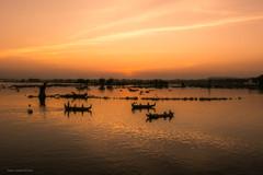 Taung Tha Man Lake (Laszlo Horvath.) Tags: amarapura nikond7100 lake sunset mandalay myanmar burma taungthamanlake