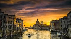 Venice Sunrise (petebristo) Tags: venice seascape italy accedamiabridge sea water sunrise