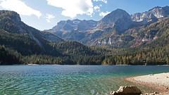 Lake Tovel (ab.130722jvkz) Tags: italy trentino alps rhaethianalps brentadolomites mountains lakes autumn