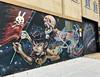 Rabbit Eye Movement by Nychos & Lolo Ys (wiredforlego) Tags: graffiti mural streetart urbanart aerosolart publicart bushwick brooklyn newyork nyc nychos loloys squidlicker
