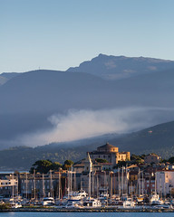 Sun rise and mist! (Wilco1954) Tags: mist saintflorent capcorse corsica morninglight