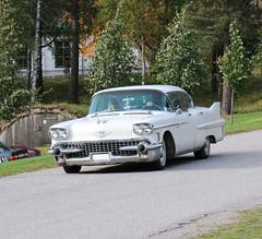 1958 Cadillac Series 62 Sedan (crusaderstgeorge) Tags: crusaderstgeorge classiccars cars 1958 cadillac 1958cadillacseries2sedan series 2 sedan americancars americanclassiccars americancarsinsweden högbo sweden sverige raggare raggarbil