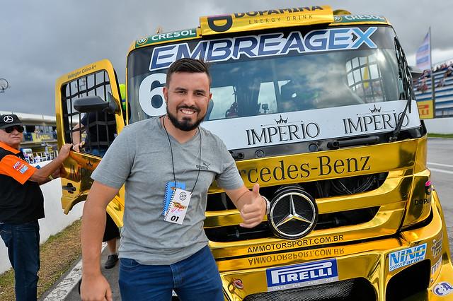 02/12/18 - A emoção do público na ação Speed Truck - Fotos: Duda Bairros