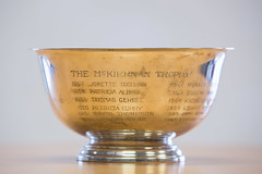 The McKerinan Trophy (SUNY Geneseo) Tags: 2017 kw archive archives artifact artifacts collection collections fall fall2017 historical library milne milnelibraryspecialcollection milnelibraryspecialcollections special