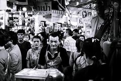 Mind your business... (dlerps) Tags: bkk bangkok city daniellerps lerps sony sonyalpha sonyalpha99ii tha thai thailand urban lerpsphotography metropolitan monochrome bw blackwhite man male work pushing cart apron worker mall chinatown streetphotography crowd people carlzeiss asia asian shops busy carlzeissplanar50mmf14ssm sad depressed asiafavorites happyplanet