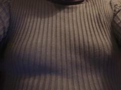 Liitle boobs! (donnacd) Tags: sissy tgirl tgurl slut dressing crossdress crossdresser cd travesti transgenre xdresser crossdressing feminization tranny tv ts feminized jumpsuit domina blouse satin lingerie touchy feely he she look 易装癖 シー