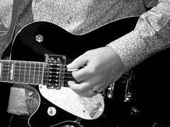 Guitar Life 2 (C J Brennan) Tags: gretsch lefthander blues player chords musicician
