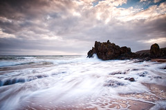 More Singing Sands (captures.in.time) Tags: seascape landscape scotland islay highlands islands sea spray waves 10stop leebigstopper canonphotography landscapephotography canon calmac ngm ngc argyleandbute