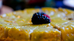 Its very  lemony! (J.R. Rondeau) Tags: rondeau yellowknife nt explorerhotel desserts cake food christmas xmas brunch canoneos canon50mmf18 photoshopelements10