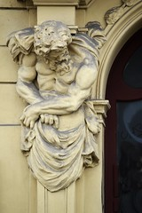 Prager Fassadendetails - 6 (fotomänni) Tags: prag prague praha jugendstil fassadenfiguren skulptur skulpturen sculpture kunst art manfredweis