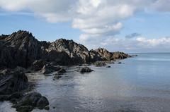 Barricane Beach (Explore #15) (amber654) Tags: england devon woolacombe barricanebeach barricane coast sea ocean water beach rocks rocky nikon nikond5500 18140 d5500 sky rock bay landscape