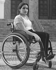 13738141_10210482784970895_1706880855138303818_o (jackcast2015) Tags: handicapped disabledwoman crippledwoman wheelchair paraplegic paraplegicwoman