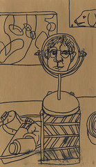 2018.12.31 Antepenultimate Self-Portrait of the Year (Julia L. Kay) Tags: juliakay julialkay julia kay artist artista artiste künstler art kunst peinture dessin arte woman female sanfrancisco san francisco sketch dibujo selfportrait autoretrato daily everyday 365 self portrait portraiture face dpp dailyportraitproject acrylic acrylics acrylicpaint paint painting paper canvas panel