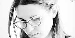 lawyer (archgionni) Tags: portrait beauty bellezza charm signora lady occhiali glasses viso face occhi eyes professionalità professionalism canon