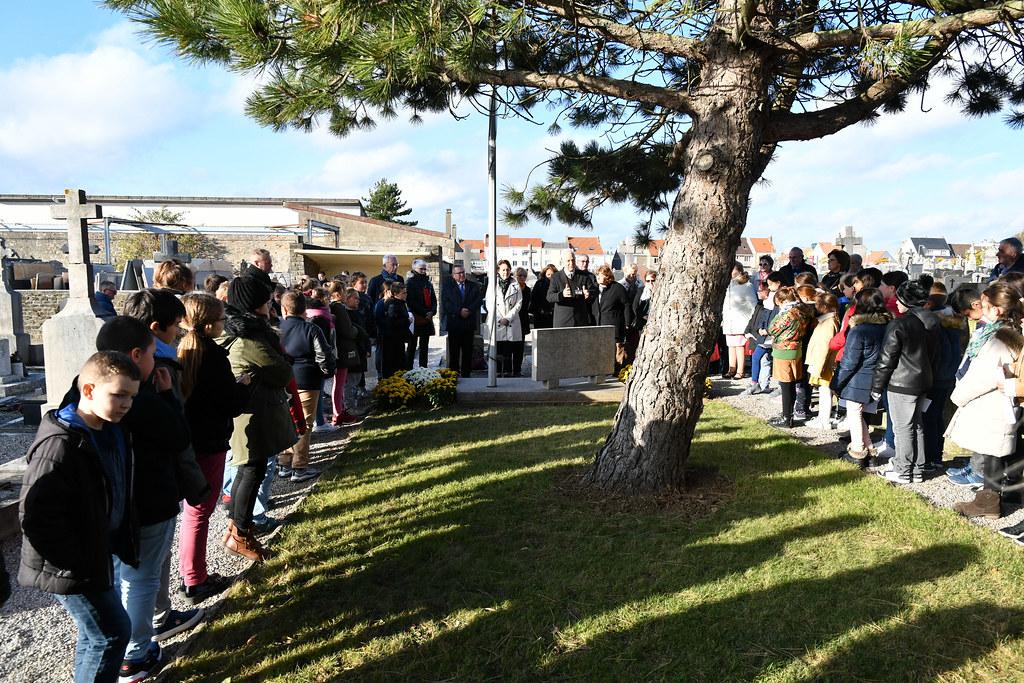 cérémonie dépots de gerbes 14-18 avec les écoles 09.11.2018  (8)