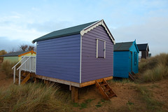Old Hunstanton Beach.. (Adam Swaine) Tags: beach beachhuts norfolk norfolkcoast coastal coast seaside england english britain british counties ukcounties rural beautiful canon hunstanton walks uk eastanglia