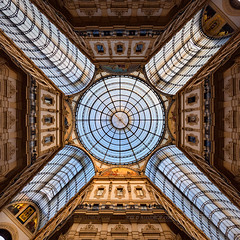 _MG_4128 - Shoppers' Golden Cross (AlexDROP) Tags: 2018 italy europe lombardy milano milan art travel architecture panoramic interior color canon6d ef16354lis wideangle best iconic famous mustsee picturesque postcard hdr symmetry