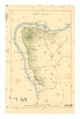Lithograph of Taranaki, no date. (Archives New Zealand) Tags: archivesnewzealand maori map taranaki 19thcentury newzealandhistory newzealandwars landwars nzwars confiscation raupatu