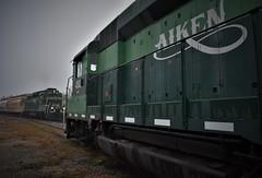 Aiken Railway (ryanstuart1) Tags: aiken railway railroad shortline freight emd gp30 loco locomotive engine