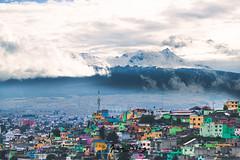 Nevado de Toluca y el barrio (Joan Díaz) Tags: toluca xinantecatl volcán city cielo nubes clouds nieve snow