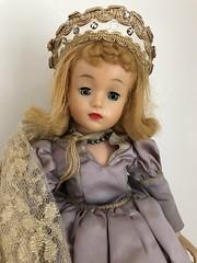 Thrift Store - Madam Alexander Sleeping Beauty (Foxy Belle) Tags: doll madam alexander vintage blonde crown id help jointed ma 1959 disney sleeping beauty