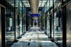 Elevator hall (tanaka0511) Tags: elevator hall clear bright osaka atc wtc nanko