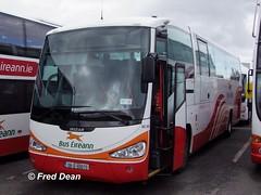 Bus Eireann SC252 (08D60073) in Broadstone Depot, Dublin 3rd April 2010. (Fred Dean Jnr) Tags: dublin april2010 buseireann broadstonedepotdublin broadstone buseireannbroadstonedepot scania irizar century