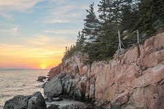 Bass Harbor Head Light sunset (general.disarray) Tags: lighthouse maine acadia sunset