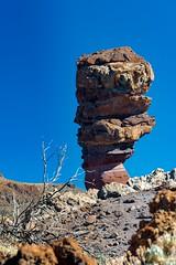 Roque (López Pablo) Tags: rock roque teide national park sky blue red nature tenerife canarry island spain nikon d7200
