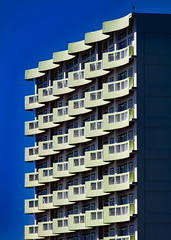 (jfre81) Tags: building balcony repeating pattern repetitive lines waves blue onblue galveston texas tx tex island boi west end gulf coast minimalist architecture architectural geometric geometry
